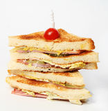 Club Sandwich Stockbild