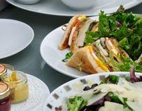 Club Sandwich Lizenzfreies Stockbild