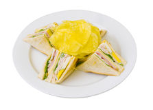 Club sandwich Royalty Free Stock Images