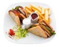 Club sandwich Stock Image