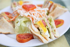 Club sandwich Royalty Free Stock Photography