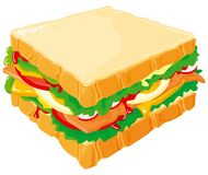 Club Sandwich Royalty Free Stock Photo