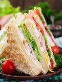 Club sandwich royalty free stock image