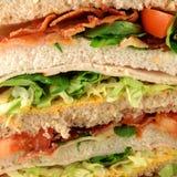 Club sandwich. Stock Photos