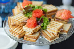 Club Sandwich mit cheese-2 Stockfoto