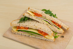 Club sandwich Royalty Free Stock Image