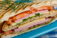 Club sandwich Stock Photography