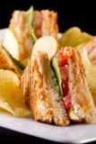 Club Sandwiche Lizenzfreies Stockfoto