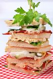 Club sandwiches Royalty Free Stock Image