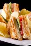 Club sandwiches Royalty Free Stock Photo