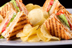 Free Club Sandwiches Royalty Free Stock Images - 23141789