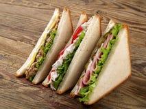 Free Club Sandwiches Stock Image - 50929161