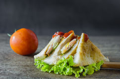 Club sandwiches Stock Photography