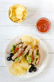 Club Sandwiches Royalty Free Stock Images