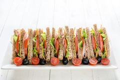 Club Sandwiches Stock Images