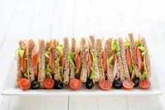 Club Sandwiches Royalty Free Stock Photos