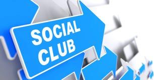 Club sociale. illustrazione vettoriale