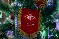 Club Spartak Moscow, FCSM del fútbol Fotografía de archivo libre de regalías