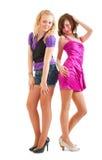 Club style girls Stock Image