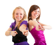 Club style girls Stock Photography