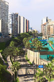 Club Tennis Las Terrazas in Miraflores, Lima, Peru stock photography