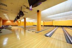 Club vacío del bowling fotos de archivo libres de regalías