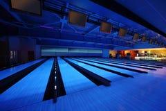 Club vacío del bowling Fotografía de archivo libre de regalías