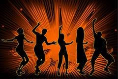Club vector composition Royalty Free Stock Photos