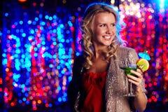 Clubber heureux Photos stock