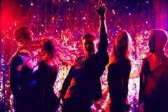 Clubbers énergiques Photos stock