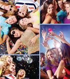 Clubbers Stock Images