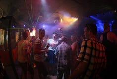 Clubbers 016 Fotografering för Bildbyråer