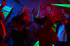 Clubbers energetici fotografia stock