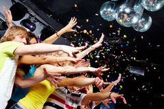 Clubbing Royalty Free Stock Photos