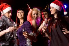 Clubbing Royalty Free Stock Photography