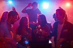 clubbing fotografia stock