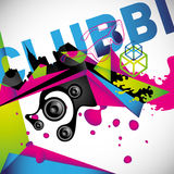 Clubbing background. Stock Photography
