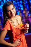 Clubbing beauty Stock Images