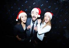 Clubbing dos sócios comerciais foto de stock royalty free
