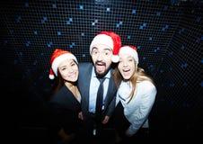Clubbing dos sócios comerciais fotografia de stock
