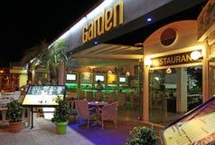 Clubbing em Faliraki, Grece da vida noturna foto de stock royalty free