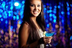 At nightclub Stock Photos