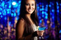 At nightclub Stock Photos