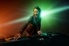 Clubbing party dj Royalty Free Stock Photos