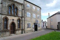 Clube conservador em Axminster, Devon fotografia de stock