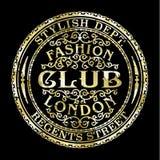 Clube da forma de Londres da rua dos regentes Fotografia de Stock Royalty Free