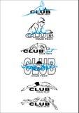 Clube da nadada ilustração do vetor