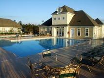 Clube da nadada da vizinhança Fotos de Stock Royalty Free