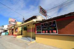 Clube da passarela no olongapo Imagens de Stock
