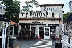 Clube da rocha o Beatles Imagens de Stock
